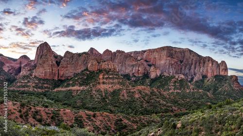 Foto op Aluminium Cappuccino Kolob Canyon