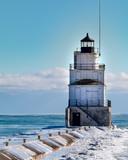 Frozen Lighthouse - 187560746