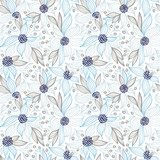 Seamless vector floral pattern - 187564793
