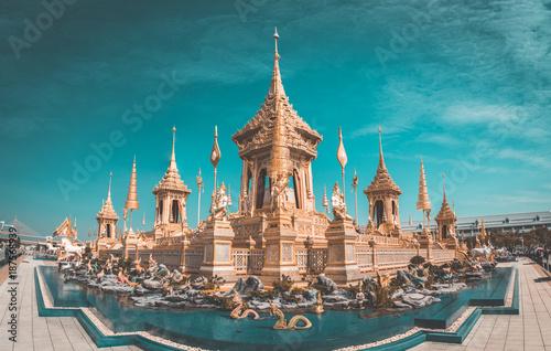 The Royal Crematorium in Bangkok, Thailand - 187568939