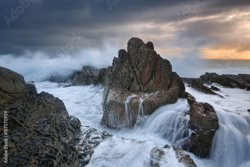 Foto Murales Rough Seas