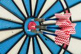 old darts board