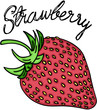 Sweet red strawberry