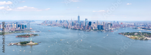Foto op Plexiglas New York High resolution view of New york city - United states of America