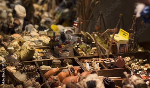 Foto Murales Handmade items composition