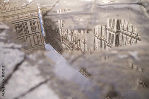 Papiers peints Florence Reflejo en Florencia I