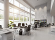 modern office building interior. - 187616108