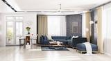modern  living room - 187616156