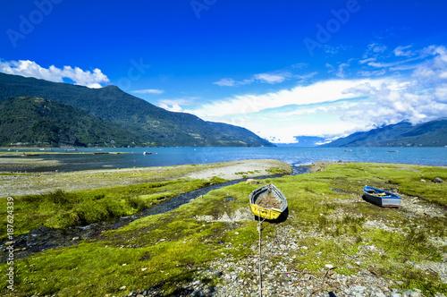 Village de pêcheur, Patagonie, Chili - 187624339