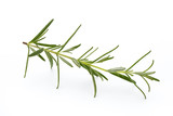 Rosemary isolated on white background, Top view. - 187627162
