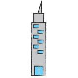 skyscraper icon image - 187641933