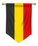 Belgium Pennant - 187649536