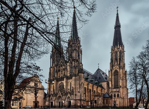 Saint Wenceslas Cathedral- Olomouc - Czech Republic Poster
