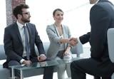 confident handshake business partners - 187661366