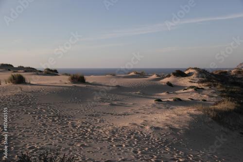 Papiers peints Cappuccino dunas e mar do guincho