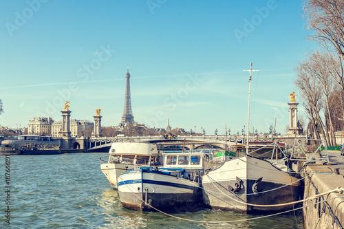 Landscape of the city of Paris - 187666191