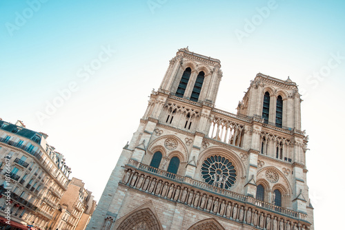 Catholic Cathedral of Paris, Notre Dame Poster