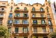 Open Doors on Old Barcelona Apartment