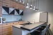 Stylish kitchen in modern style