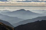 Beautiful landscape with hills of Himalaya Mountains, Nepal. - 187709355