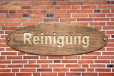 Schild 240 - Reinigung - 187715325