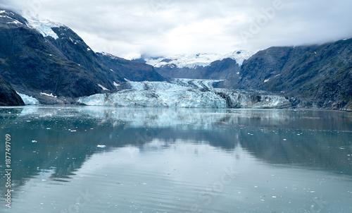 Foto op Canvas Nachtblauw Skagway. Alaska. Glacier Bay. National Park
