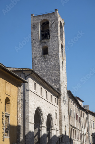 Narni (Umbria, Italy), historic city: tower - 187750790