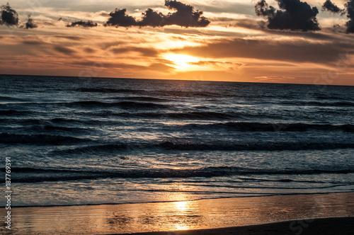 Aluminium Strand tramonto