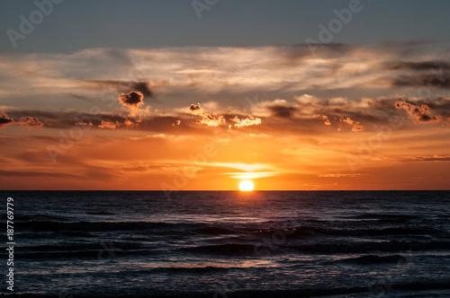 Keuken foto achterwand Zee zonsondergang tramonto