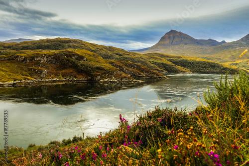 Foto op Canvas Bergen Highland Scotland