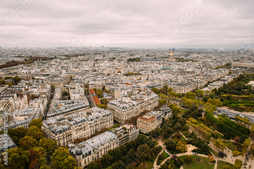 View of the City of Paris from Up High Poster