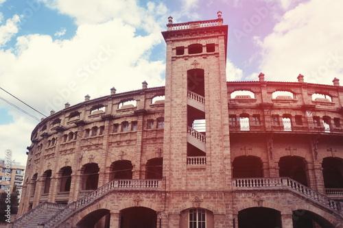 Foto op Aluminium Madrid Corrida Arena. Plaza de toro, Palma de Mallorca