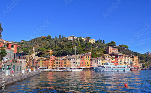 Traditional houses in Portofino. Italy - 187808775