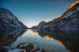 winter koenigssee bayern alps landscape - 187814766