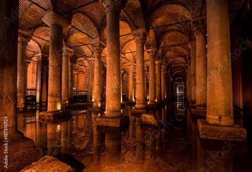The Basilica Cistern - Istanbul, Turkey.