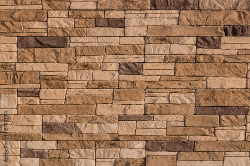 Keuken foto achterwand Stenen facing stone
