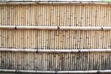 Bamboo wall in japan