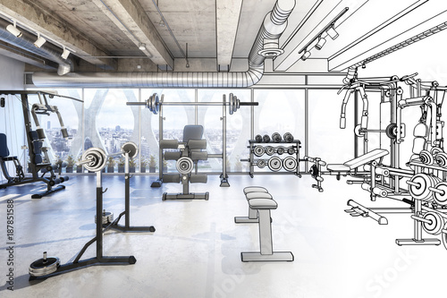Weights Room (draft) © arsdigital