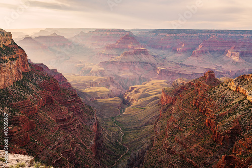 Foto op Plexiglas Cappuccino Sunset at the Grand Canyon