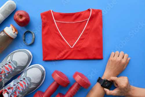 Fotobehang Fitness Ready for training
