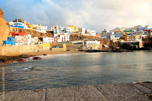 Puerto de Sardina on Gran Canaria Island, Canary Islands, Spain