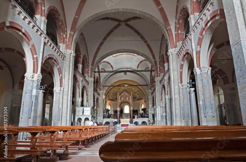 Keuken foto achterwand Schip Milan - The nave of Saint Ambrosius church