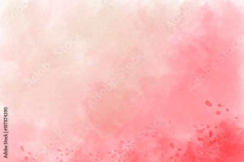 Różowy tło akwarela. Cyfrowy rysunek.