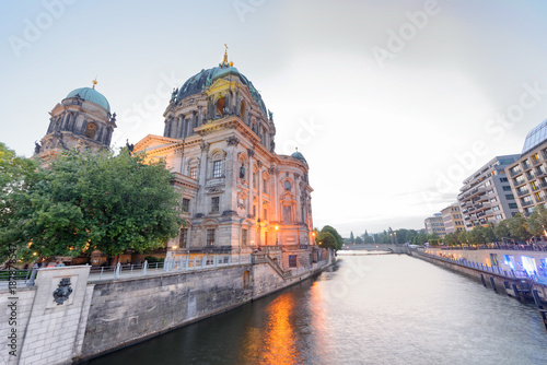 Papiers peints Berlin Sunset view of Berliner Dom. City Cathedral in summer