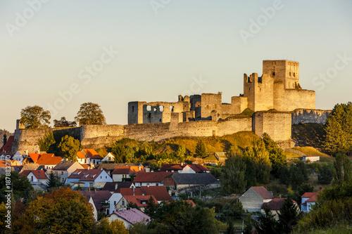 Poster ruins of Rabi Castle, Czech Republic