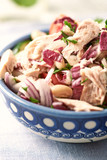 Tuna salad with white beans and radichio - 187887597