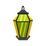 Lantern icon, flat style - 187889558