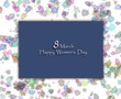 8 March happy women's day.