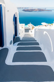 Santorini - Greece. Traditional style stairway of Santorini, Greece.