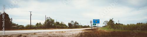 Keuken foto achterwand Panoramafoto s Louisiana Staatsgrenze